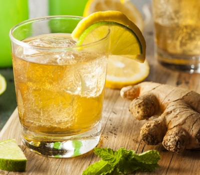 Koktel od đumbira sa citrusima