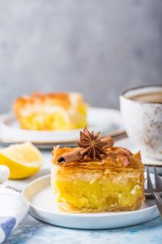 Grčki kolač sa vanilom