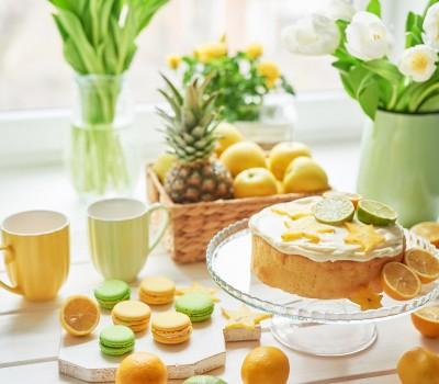 Lagani kolač sa limunom i sirom