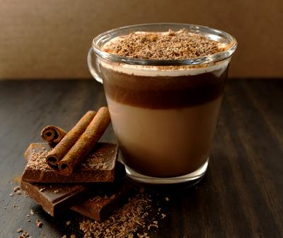 Jesenja topla čokolada