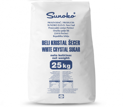 Crystal Sugar 25/1